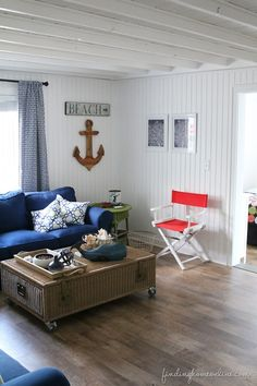 Beach House Decorating & Letting Go - Finding Home
