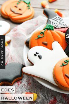 Halloweeni bulit készülsz csapni, de nem tudod hogyan is kezd el? Az ijesztő dekoráció mellett természetesen fontos az is, hogy milyen ételeket szolgálunk fel, de leginkább, hogyan díszítjük őket. Félelmetes ételdekorációk helyett te is válaszd ezeket az aranyos szellem, tök, fekete macska és denevér alakú sütemény kiszúrókat! Találd meg te is kedvenc terméked több száz webárujáz kínálatából a ShopAlike.hu-n! #halloweendekoráció #sütemény Diy Halloween, Cookies, Desserts, Food, Crack Crackers, Tailgate Desserts, Halloween Crafts, Deserts, Eten