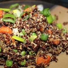 "Quinoa Fried Rice | ""Delicious! Great combo of flavors...a definite keeper~YUM!"""