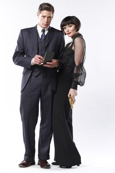 Miss Fisher's Murder Mysteries..Australian TV show not yet available in the US, bummer! The novels are a delight!
