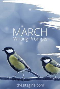 Do you need writing inspiration? We have writing prompts for each day of March to help you write and blog all month long.