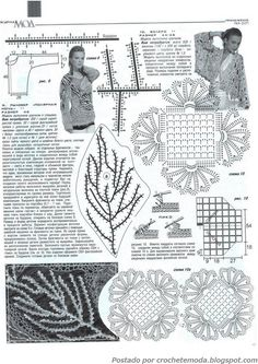 Crochetemoda: Vestido de Crochet Vermelho
