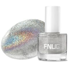 Psychedelic raved as best silver holographic nail polish | FNUG