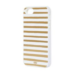Gold Stripes iPhone 5 Case, $36, now featured on Fab.