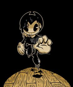 Bendy and the ink machine fanart Bendy And The Ink Machine, Bendy Y Boris, Boris The Wolf, Alice Angel, All Meme, Indie Games, Yandere, Scary, Mickey Mouse