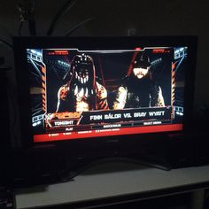 Finn Bálor vs. Bray Wyatt in WWE Raw at WWE 2K16 #WWE2K16 #RAW Wwe 2k, Bray Wyatt, Finn Balor