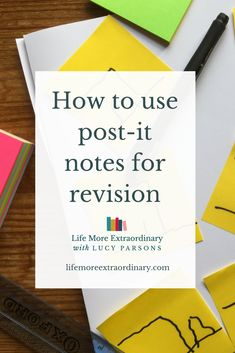 Post-it notes can be used in several different ways to really help you with your revision. In this video I'm going to show you five ways to use post-it notes to supercharge your revision Revision Techniques, Revision Tips, Gcse Revision, Study Techniques, Study Skills, Study Tips, Study Hacks, Back To School Organization, Organization Hacks