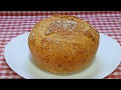 Cómo hacer un pan muy rápido y sin esperas de jamón y queso - YouTube Tapas, Pan Rapido, Bread, Food, Youtube, Gastronomia, Ham And Cheese, Bread Recipes, Dishes