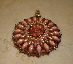 Tutorial earrings pendant Tatiana Technical  by PatriziaBijoux