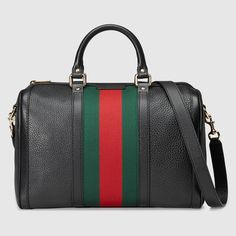 Gucci Women - Vintage web boston bag - 247205A7MAG1060