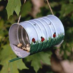 bird feeders kids can make - How To Make A Bird Feeder Using Multiple Feeding Options? – Garden Design