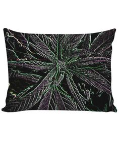 Midnight Marijuana Custom Pillow Case
