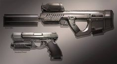 FUSE Weapons by MeckanicalMind.deviantart.com on @DeviantArt