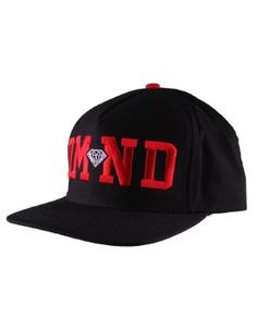 817e460f979 Diamond Supply Co. Diamond Hat   Black Red White Diamond Supply Co