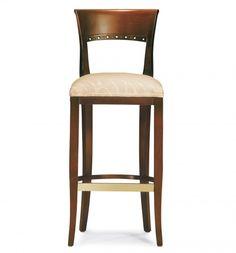 4919-2 Wood Barstool