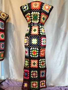 Venta mujer ganchillo abuela Plaza Hippie Maxi por OrawanCrochet