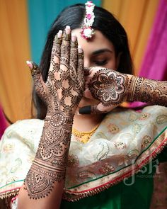 If you are looking for bridal mehndi designs for your wedding, then check out these top 30 mehandi images for some inspiration. Right from a simple mehndi design to an elaborate bridal henna design, you'll find it in here!