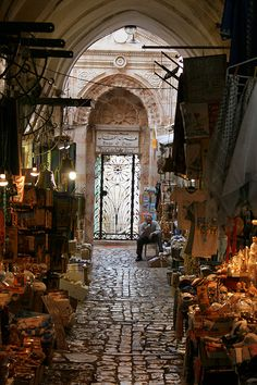 "The Old City, Jerusalem In the film His Land, Cliff Richard said, ""Walking through the streets of the Old City [of Jerusalem] there is a sense of being in someone's home when they are not there. One Day, He will return."