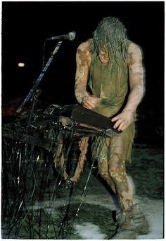 Mud, Piss, Catharsis: Inside Nine Inch Nails' Iconic Performance at Woodstock Woodstock 1994, Alternative Artists, Trent Reznor, Nine Inch Nails, Alice In Chains, Lollapalooza, Perfect Sense, Band Posters, Aerosmith