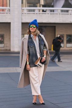I'd wear everything about this except the stiletos - let's be real right quick  | Man Repeller