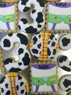 To infinity and beyond! These Toy Story cookies will be a crowd pleaser at your little one's birthday!