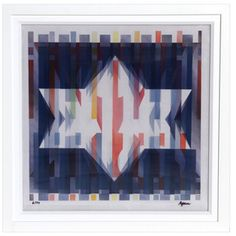 Star of Hope by Yaacov Agam (Agamograph)