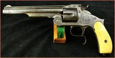 Smith Wesson Engraved Russian Model » Antique Guns