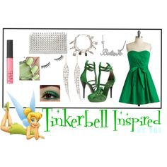 Tinkerbell Inspired Outfit.