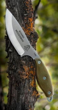 TOPS Knives Scandi Woodsman Bushcraft Survival Knife Blade