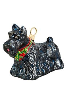Free shipping and returns on Joy to the World Collectibles 'Scottish Terrier' Ornament at Nordstrom.com. Start a new holiday tradition—and celebrate your favorite dog—with an intricately detailed ornament cast in delicate blown glass. Each ornament is handmade using traditional old-world production techniques that take up to seven days to complete.