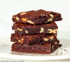 The Ultimate Browned-Butter Cocoa Walnut Brownies - My Kitchen in the Rockies | A Denver, Colorado Food Blog