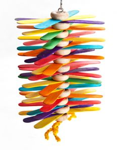 Wooden chew Whirly Twirly  http://www.bunnyrabbit.com/price/toys_chew2.htm