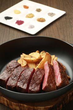 ディナー   ダイニング イグレック   レストラン   神戸北野ホテル Kobe, Steak, Restaurant, Foods, Dining, Food Food, Food Items, Food, Diner Restaurant
