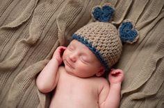 How sweet!!! Baby shower!!! Valentino Beanie by NICOLASANDREESE on Etsy, $25.00