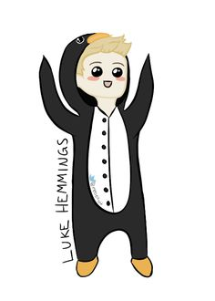 5sos anime | Luke Hemmings by xPheles