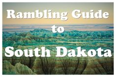 Travel tips and travel photography from South Dakota