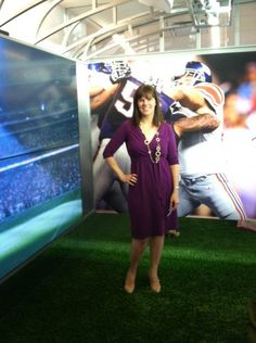 What I wore to the NFL !