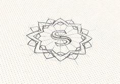 Sunflower   Logo design on Behance