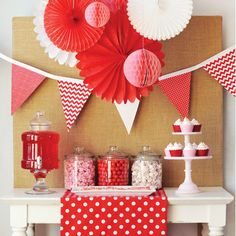 "Sweet & Simple...I would use other colors, but I love this idea for the candy bar and making look ""kid attractive!"""