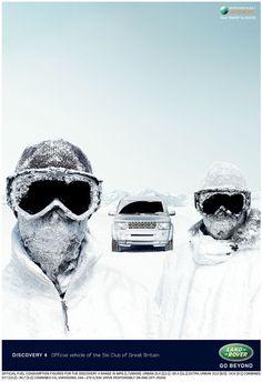 Land Rover Discovery press ad - RKCR/Y