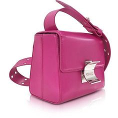 Kenzo Handbags Fuchsia Leather Small Shoulder Bag (13.225 RUB) ❤ liked on Polyvore featuring bags, handbags, shoulder bags, leather shoulder bag, leather man bags, purple leather handbags, man shoulder bag and purple shoulder bag #leatherbagsmen #bags