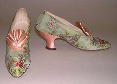 Footcandy Friday: A perfect silk garden party or evening shoe! Early 20thc. from I. Miller (American, founded 1911)  Metropolitan Museum