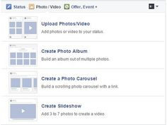 New Photo Upload Options for Facebook Page Admins