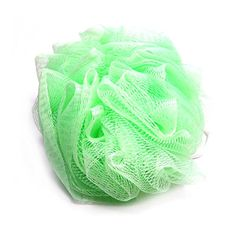 Daylee Naturals Mesh Bath Pouf Sponge Single (Green)