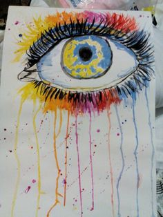 Done using water colours and light sketch