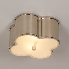 Check out Scalloped Metal Ceiling Light - Small from Shades of Light