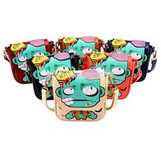 Aliexpress.com : Buy Hot Sale PVZ Women Messenger Bag Multicolor Cartoon Women Leather Handbags Campus Lovely Crossbody Shoulder Bags Wholesale from Reliable handbag bag suppliers on ASOSBAG | Alibaba Group
