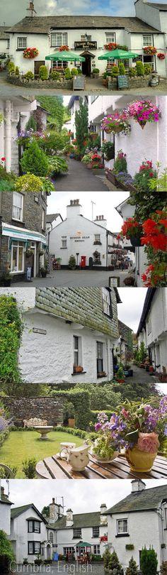 Cumbria, England, UK montage