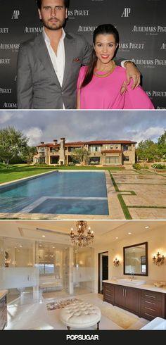 Inside Kourtney Kardashian and Scott Disick's home