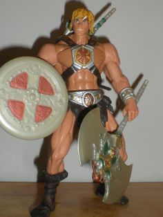 Masters of the universe 2002 HE-MAN action figure